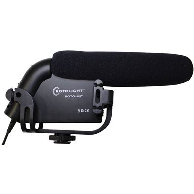 Rotolight Roto-Mic Pro Broadcast Shotgun Microphone