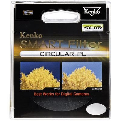 Kenko 55mm Smart Circular Polarising Slim Filter