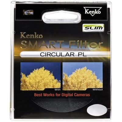 Kenko 58mm Smart Circular Polarising Slim Filter