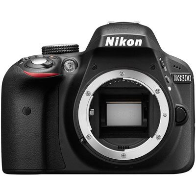 Nikon D3300 Digital SLR Camera Body - Black