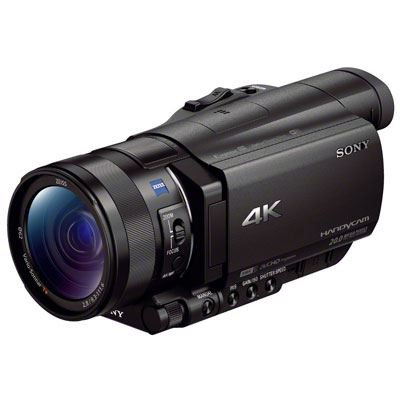 Image of Sony FDR-AX100E 4K Ultra HD Camcorder
