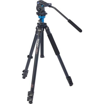 Used Benro A1573F Video Tripod Kit with S2 Head