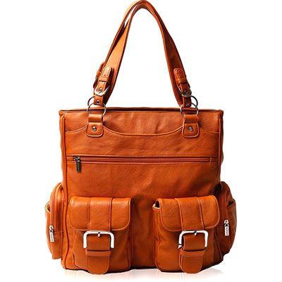 Used Epiphanie Madison Bag - Burnt Orange