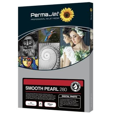 Permajet Smooth Pearl 7x5 280gsm Photo Paper - 100 Sheets