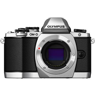 Used Olympus OM-D E-M10 Digital Camera Body - Silver