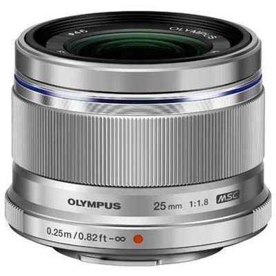 Olympus 25mm f1.8 M.ZUIKO Digital Lens - Silver