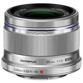 Olympus M.Zuiko Digital 25mm f1.8 Lens - Silver