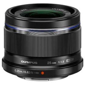 Olympus 25mm f1.8 M.ZUIKO Digital Lens - Black