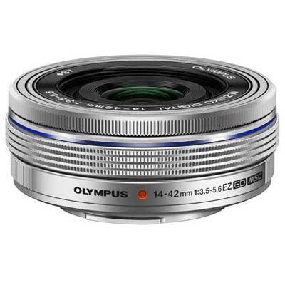 Olympus 14-42mm f3.5-5.6 EZ M.ZUIKO Lens - Silver