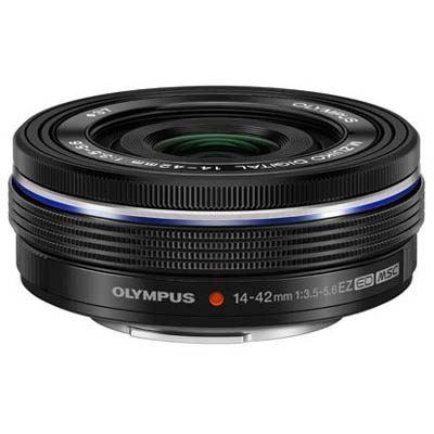 Olympus 14-42mm f3.5-5.6 EZ M.ZUIKO Lens - Black