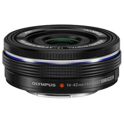 Olympus M.Zuiko Digital ED 14-42mm f3.5-5.6 EZ Lens - Black