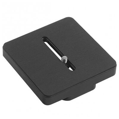 Kirk PZ-38 3 3/8in Square 1/4in Thread Universal fit Camera Plate