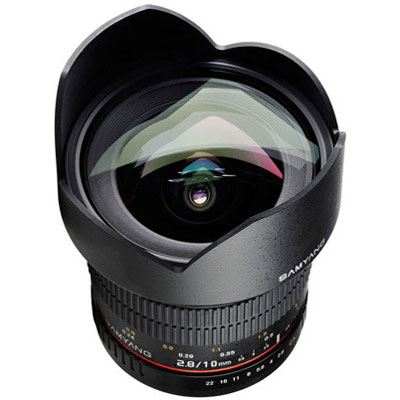 Samyang 10mm f2.8 ED AS NCS CS Ultra Wide Angle Lens - Canon M Fit