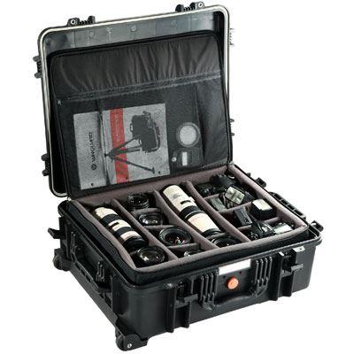 Used Vanguard Supreme 53D Hard Case with Divider Bag