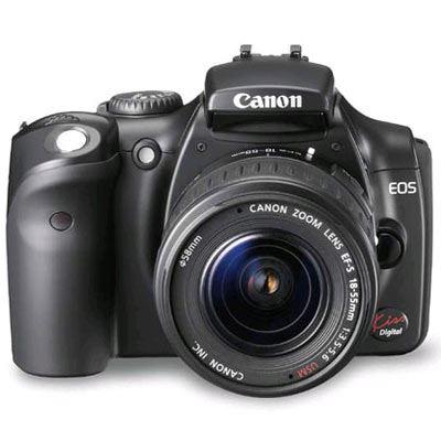 Canon 300D Black SLR body