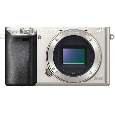 Sony Alpha A6000 Digital Camera Body  Silver