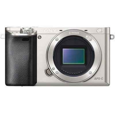 Sony A6000 Digital Camera Body - Silver