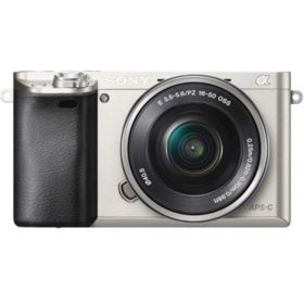 Sony Alpha A6000 with 16-50mm Lens - Silver