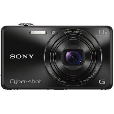 Sony Cybershot WX220 Digital Camera  Black