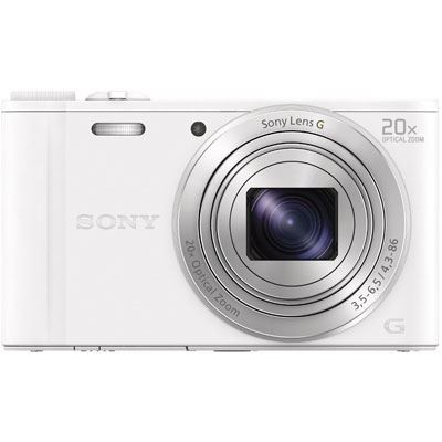 Sony Cybershot WX350 Digital Camera  White