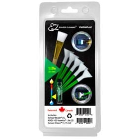 Visible Dust EZ Cleaning Kit Plus - 1.15ml Sensor Clean Sensor Brush and 5 Green Swabs (1.6x)