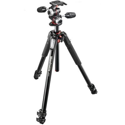 Manfrotto MK055XPRO3 Tripod + X-Pro 3-Way Head