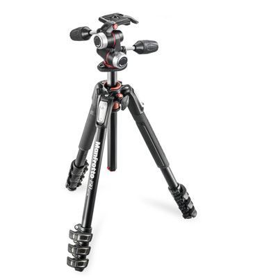 Manfrotto MK190XPRO4 Tripod + X-Pro 3-Way Head