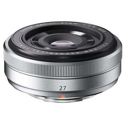 Fujifilm 27mm f2.8 XF Lens - Silver