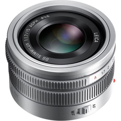 Panasonic 15mm f1.7 Leica Summilux DG ASPH Micro Four Thirds Lens - Silver