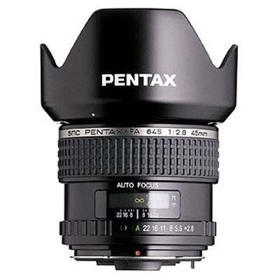 Pentax 45mm f2.8 SMC FA 645 Mount Lens