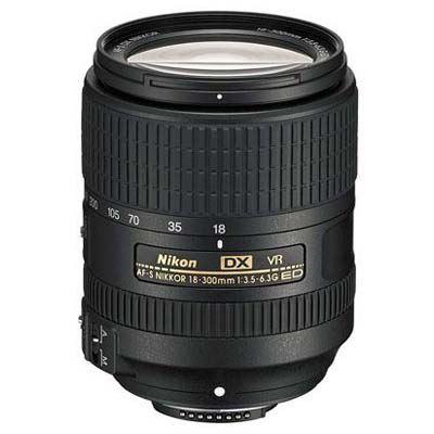 Image of Nikon 18-300mm f3.5-6.3 G ED VR AF-S DX Lens