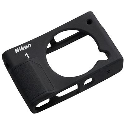 Nikon CF-N8000 Silicone Jacket for Nikon 1 J4 - Black