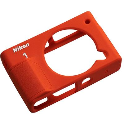 Nikon CF-N8000 Silicone Jacket for Nikon 1 J4 - Orange