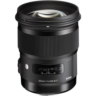 Sigma 50mm f1.4 DG HSM Art - Nikon Fit