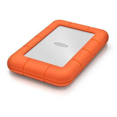 LaCie Rugged Mini Portable Hard Drive - 2TB