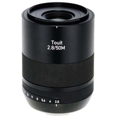 Zeiss 50mm f2.8 E Makro Touit Lens - Sony E Mount