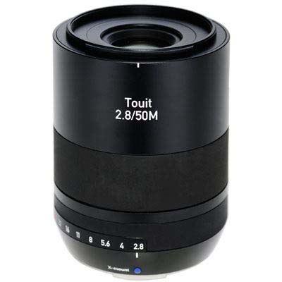 Zeiss 50mm f2.8 Makro Touit Lens - Fujifilm X Mount