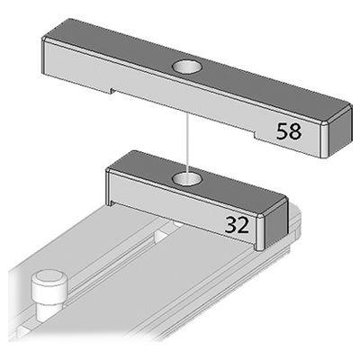 Image of Arca Swiss Stop Plate Kit MonoballFix