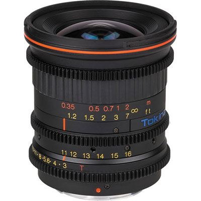 Tokina 1116mm T3 ATX Cinema Lens  Canon Fit