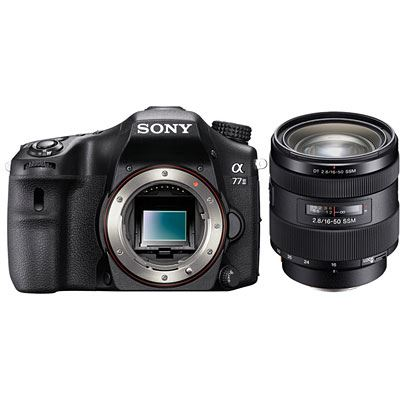 Sony Alpha A77 II Digital SLT Camera with 1650mm Lens