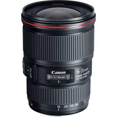 Image of Canon EF 16-35mm f4L IS USM Lens