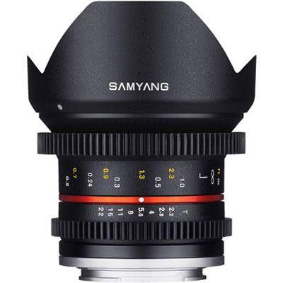 Samyang 12mm T2.2 Video Lens - Sony E Fit