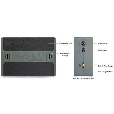 Tracer 12v 22Ah Lithium Battery Pack