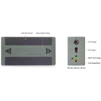 Image of Tracer 12v 10Ah Lithium Battery Pack