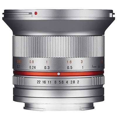 Image of Samyang 12mm f2.0 NCS CS Lens - Samsung NX Fit - Silver