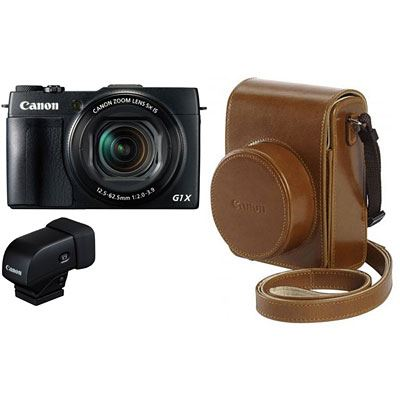 Image of Canon PowerShot G1 X Mark II Digital Camera Premium Kit