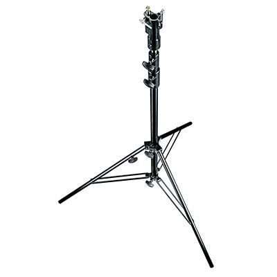 Image of Manfrotto 007BUAC Black Air Cushioned Aluminium Senior Stand