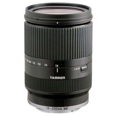 Used Tamron 18-200mm f3.5-6.3 Di-III VC Black Lens - Canon M-Mount Fit