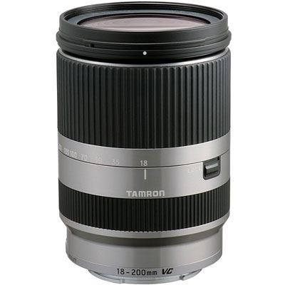 Tamron 18200mm f3.56.3 DiIII VC Silver Lens  Canon MMount Fit