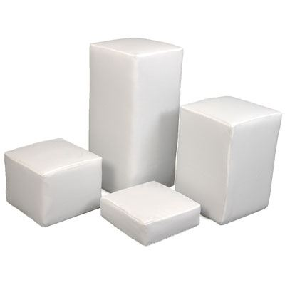 LuxS White Covers Set for Indoor Posing Kit
